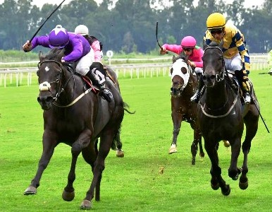 Miss Khalifa wins at the Vaal